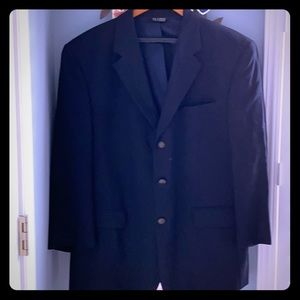 NWOT-Men's navy blue sport jacket